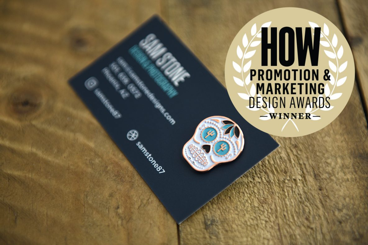 Business Card + Pin | Sam Stone