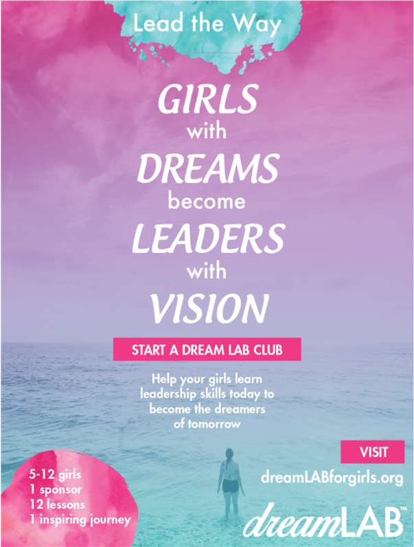 Poster designed for Girls Rule at Creatathon