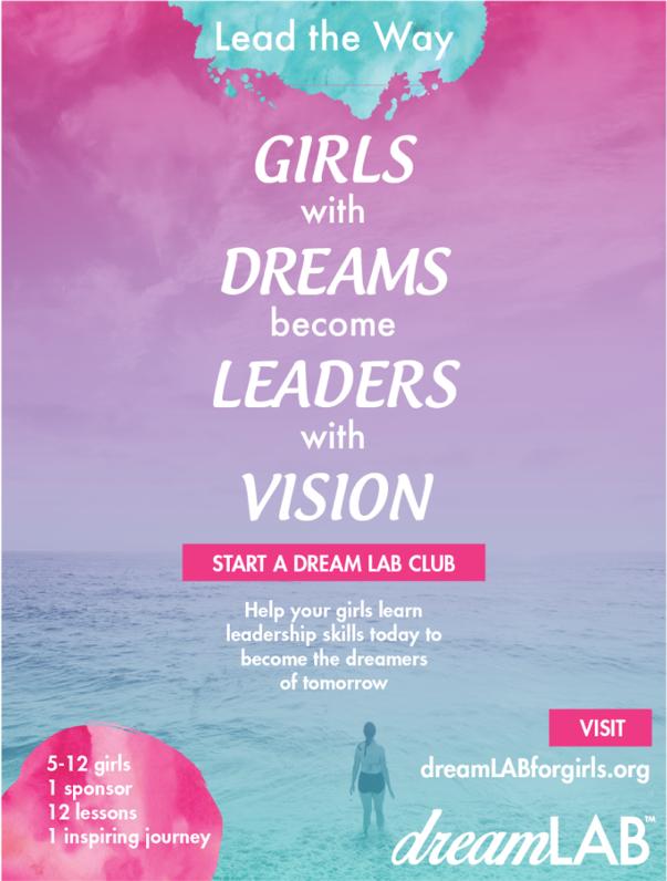 Poster designed for Girls Rule at Creatathon